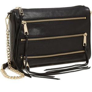 Rebecca Minkoff Mini 5 Zip Convertible Bag